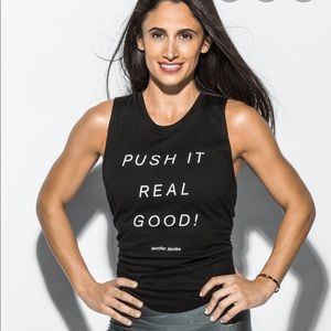 Peloton Tops - Peloton Jennifer Jacobs Quote Tank